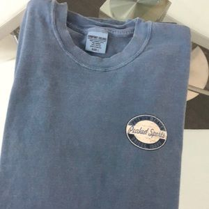 Comfort Colors garment dyed Peaked Sports T-shirt
